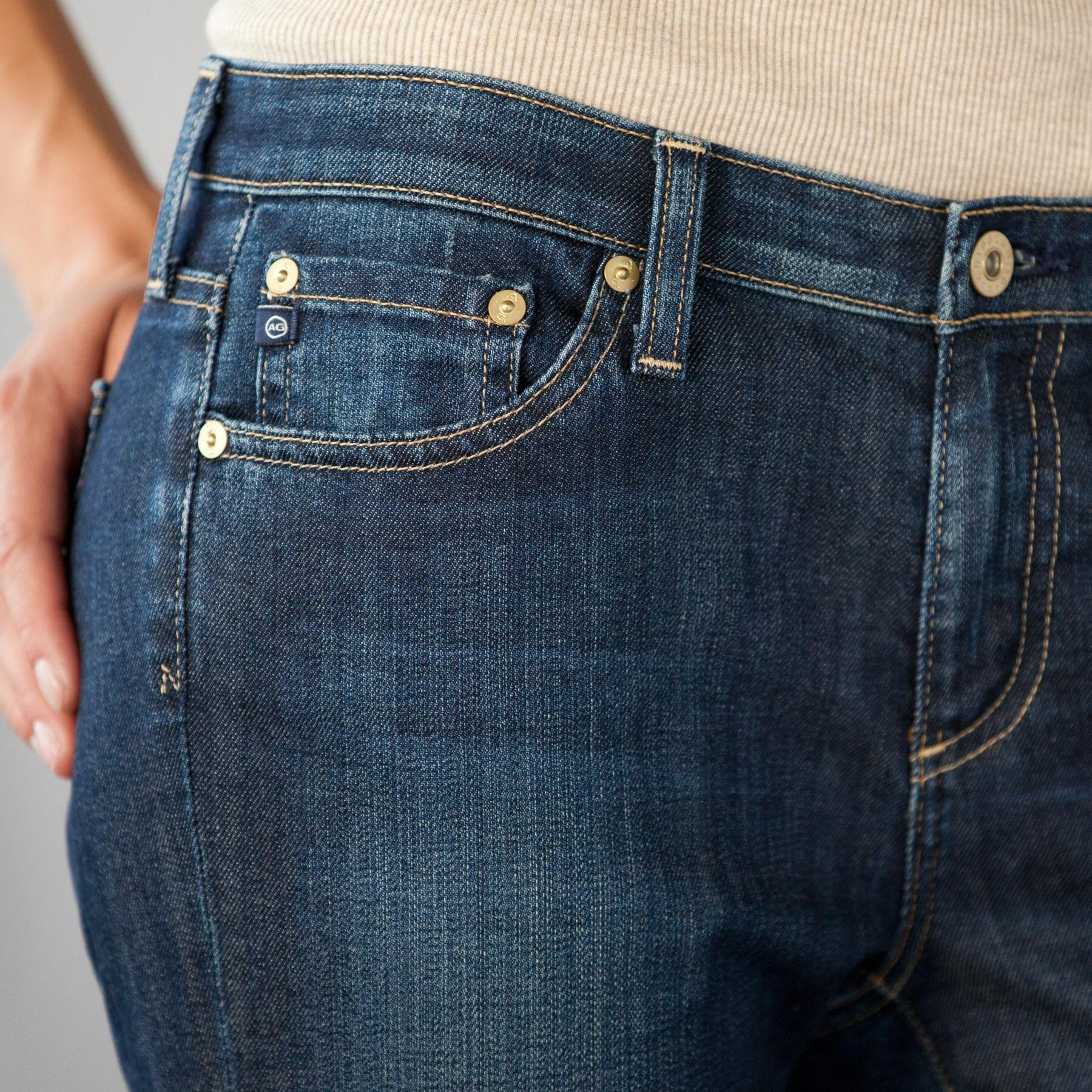 A G ALEXA MID-RISE BOOTCUT JEANS: View 4
