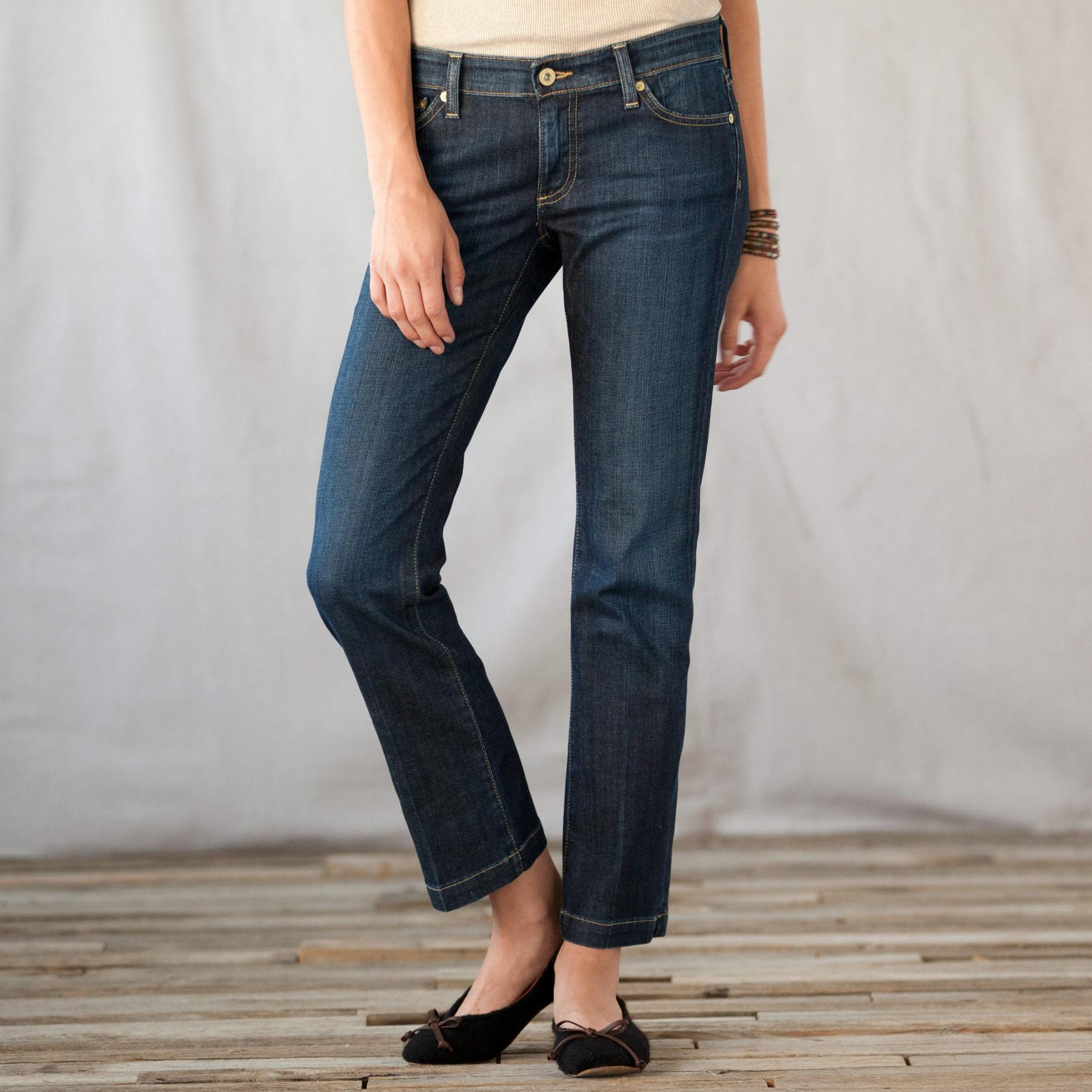 A G BALLAD ANKLE JEANS: View 1