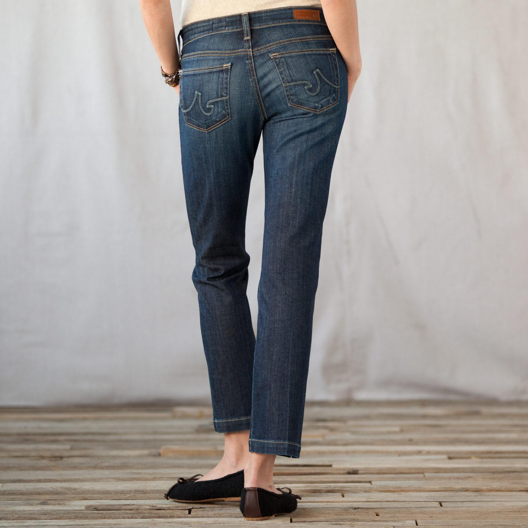 A G BALLAD ANKLE JEANS: View 2