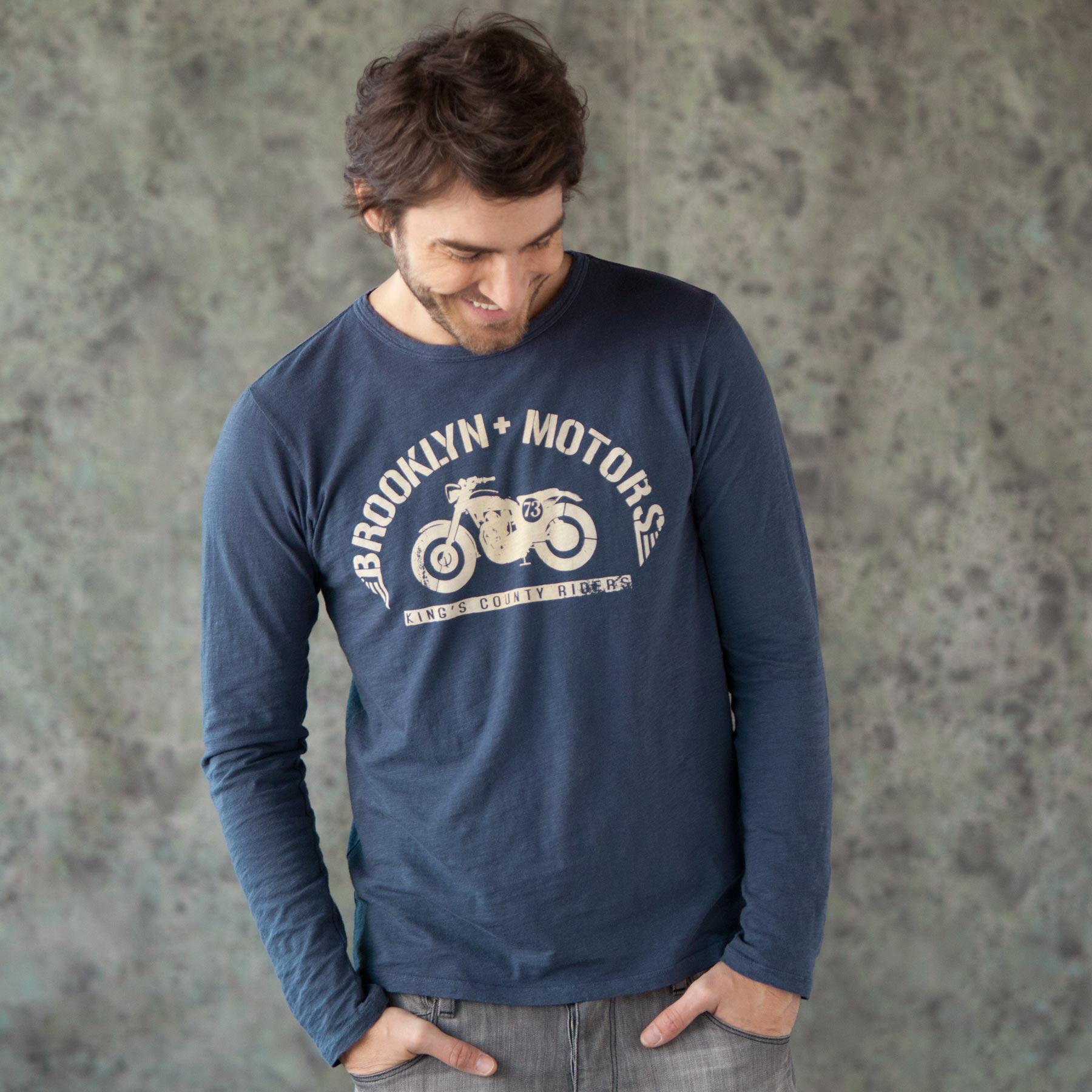 KINGS COUNTY RIDERS LONG SLEEVE TEE: View 1