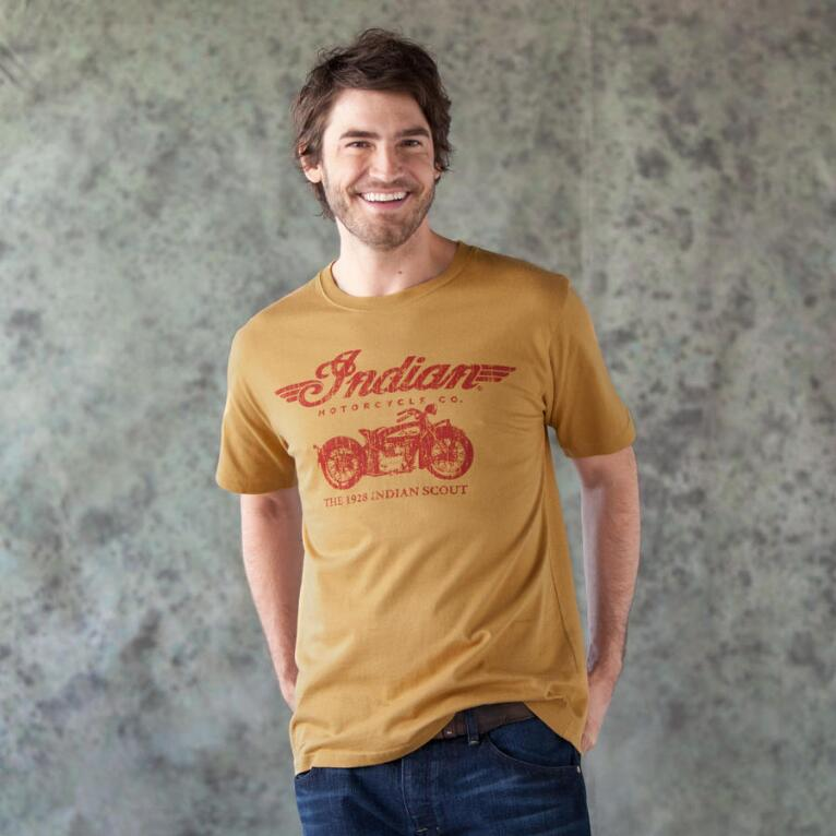 S/S INDIAN MOTORCYCLE SCOUT TEE