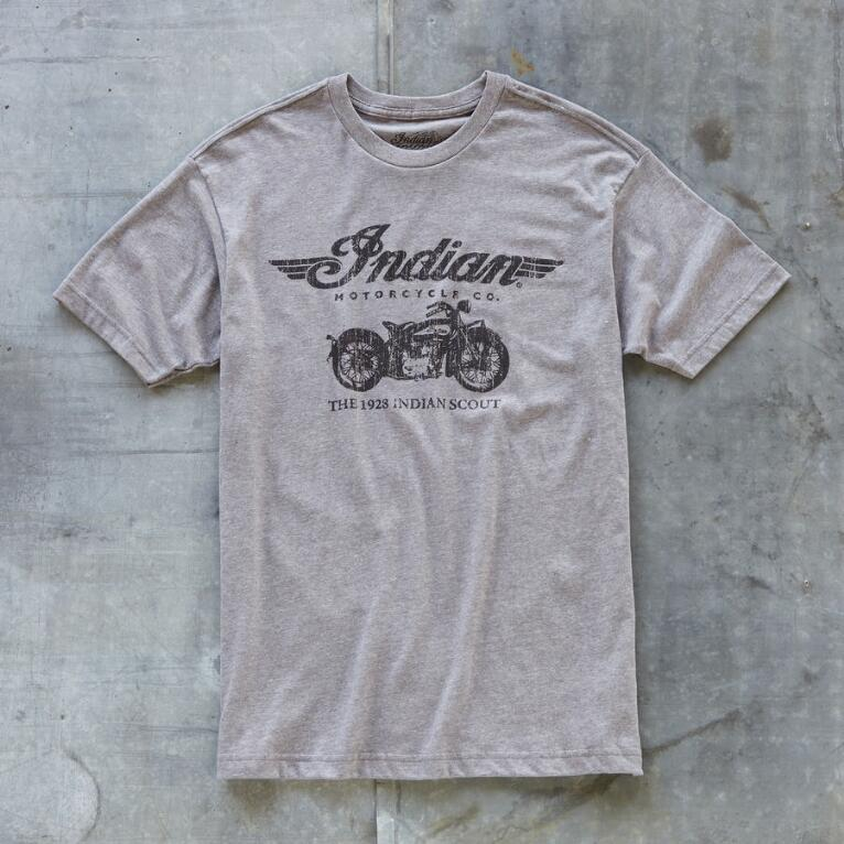 OXFORD INDIAN SCOUT TEE