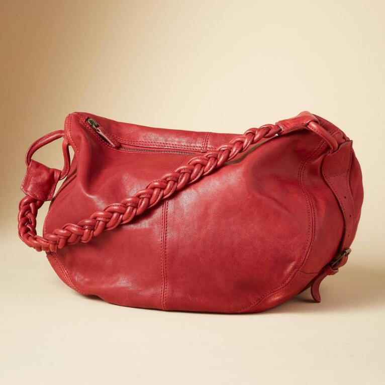 STRADA LEATHER BAG