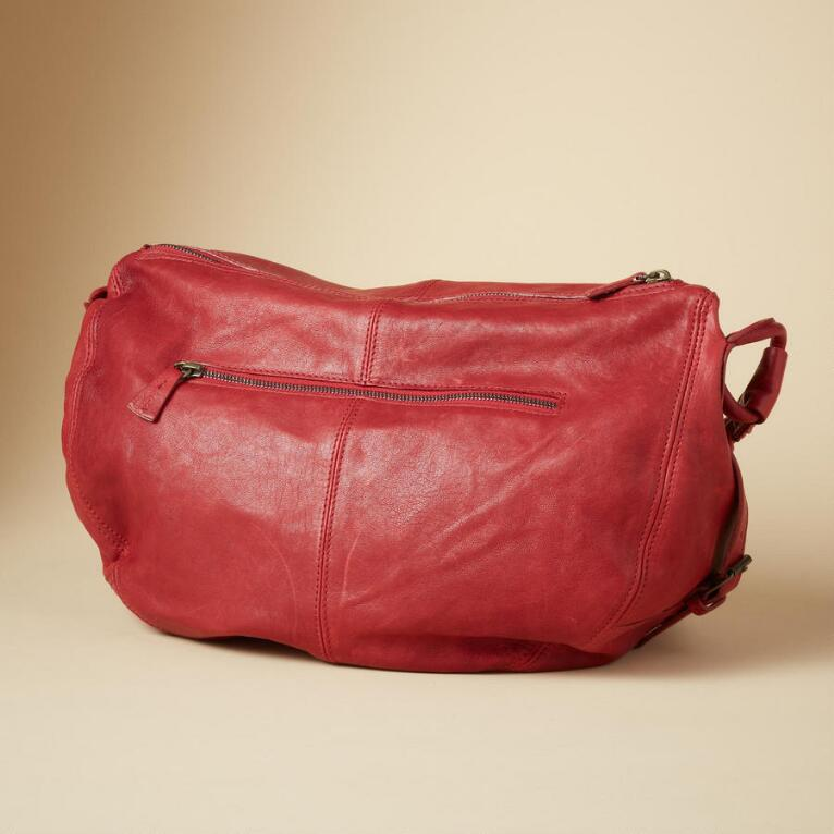 Strada Leather Bag View 2