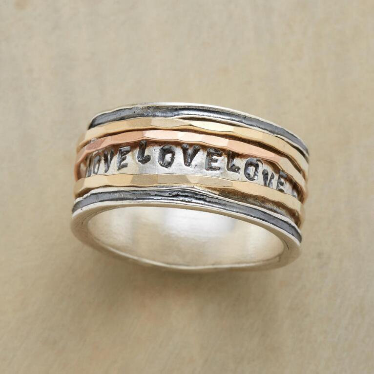 LOVE GOES ROUND RING