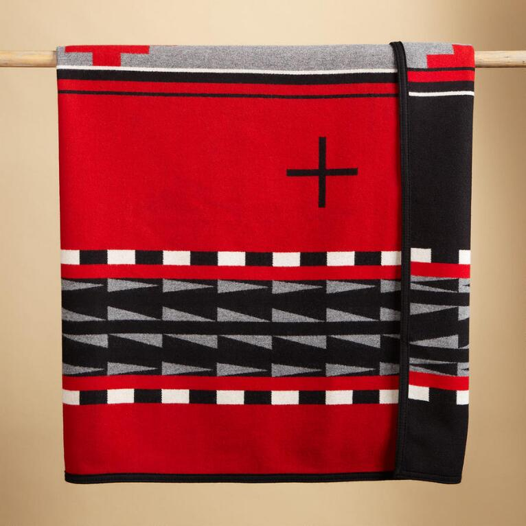 HIDATSA EARTH BLANKET BY PENDLETON®