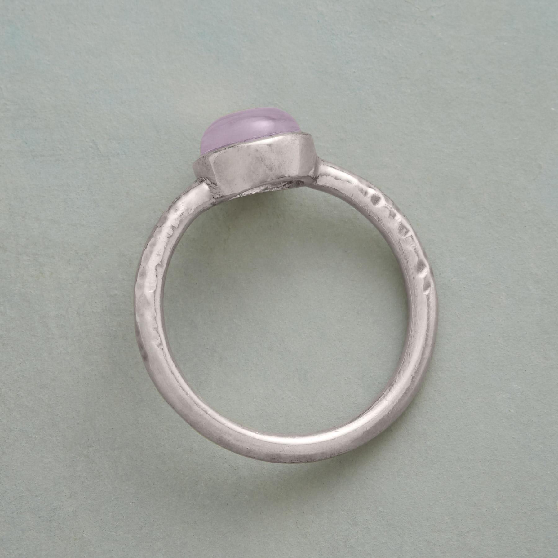 ROSE QUARTZ RING: View 2