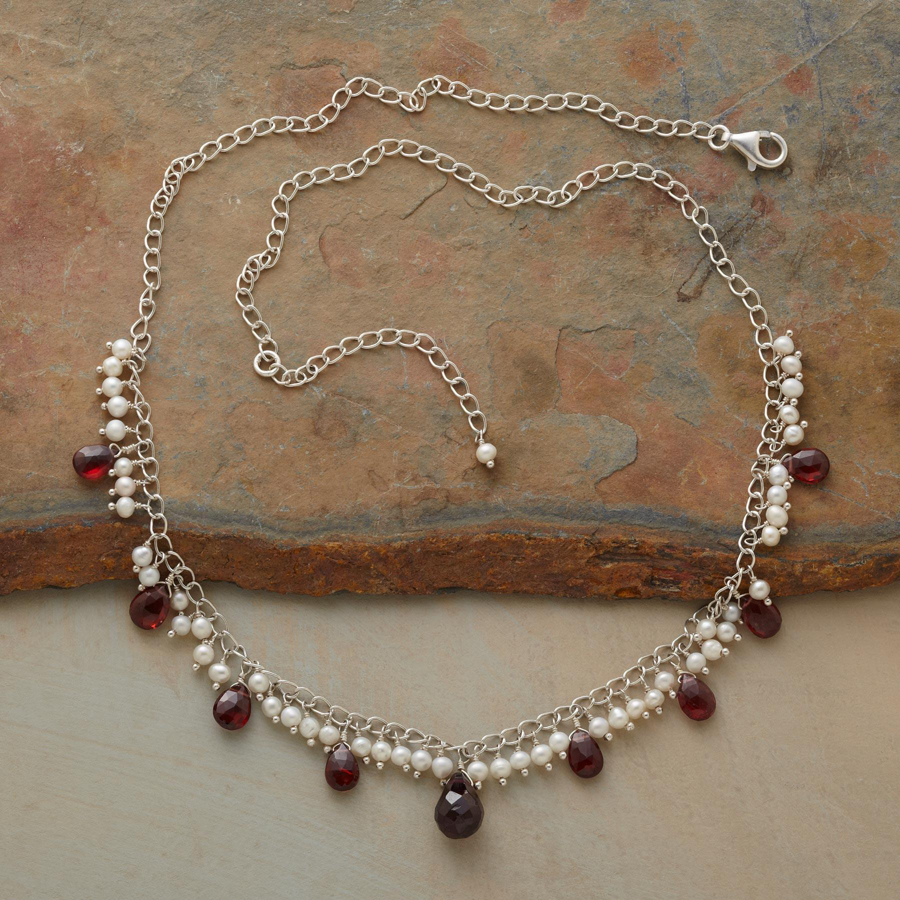 GARNET VICTORY NECKLACE: View 2
