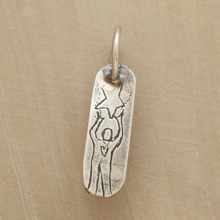 STERLING SILVER REACH CHARM