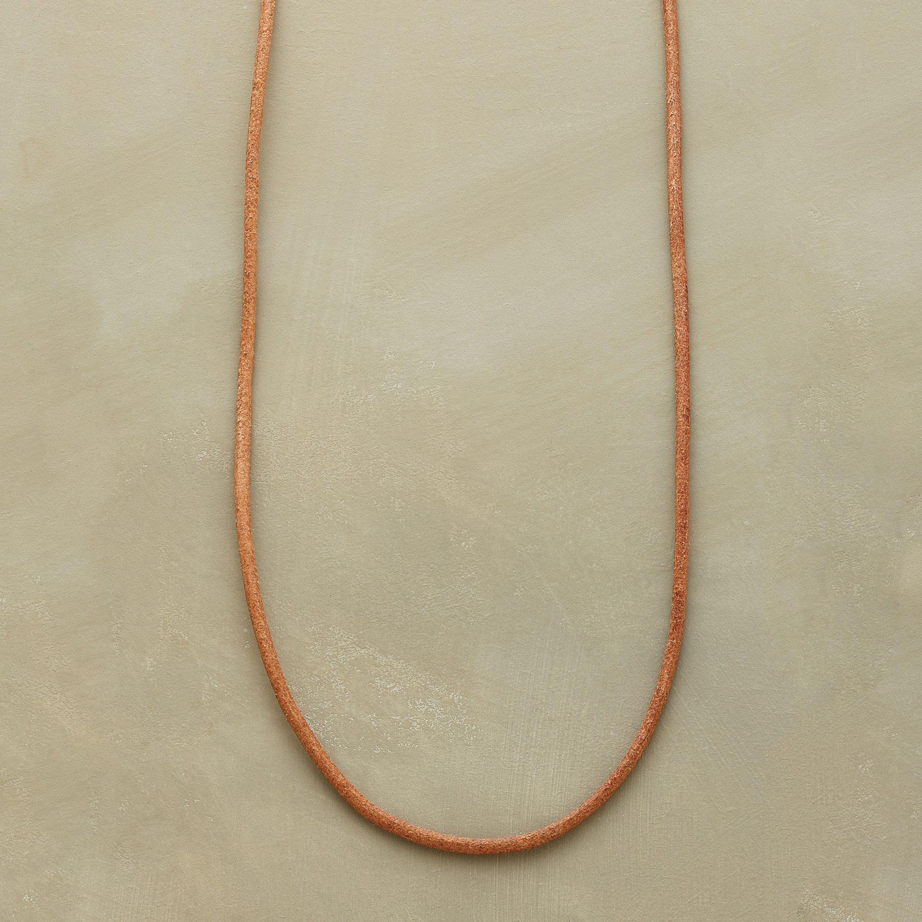 LEATHER CHARMSTARTER NECKLACE: View 1
