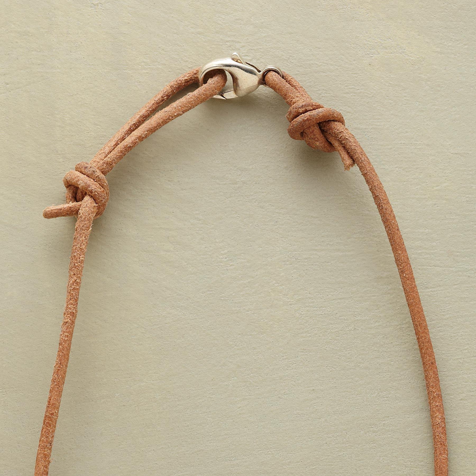 LEATHER CHARMSTARTER NECKLACE: View 3