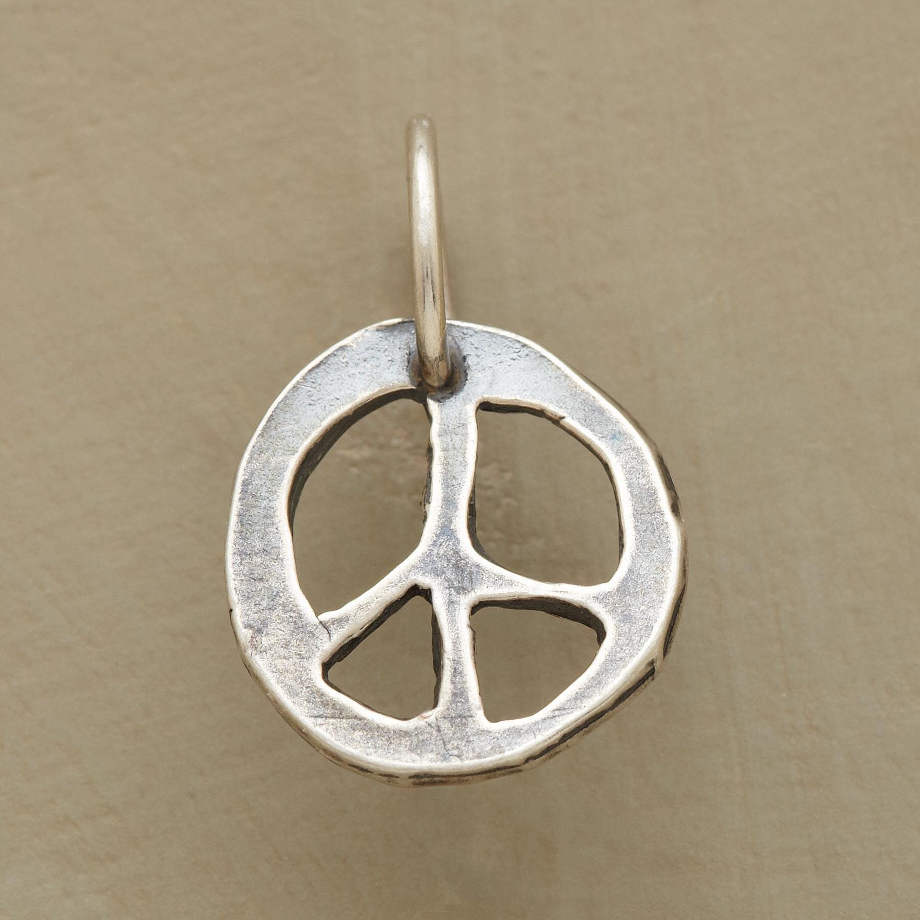 STERLING SILVER PEACE CHARM: View 1