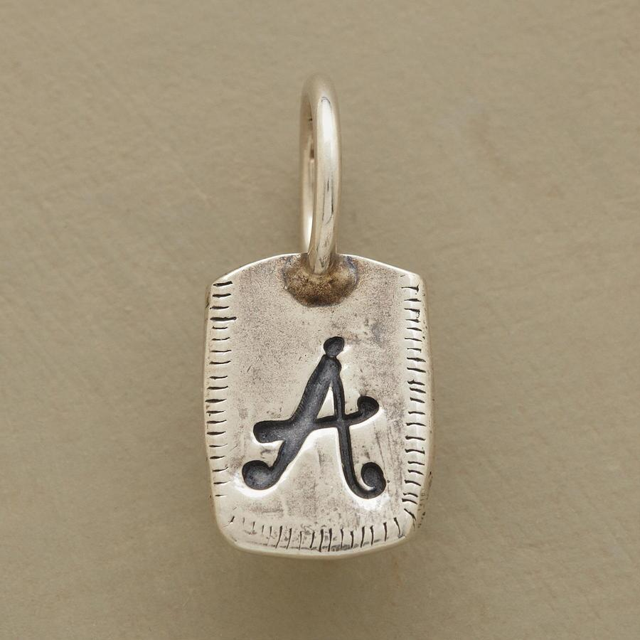 SILVER PERSONALIZED INITIAL CHARM