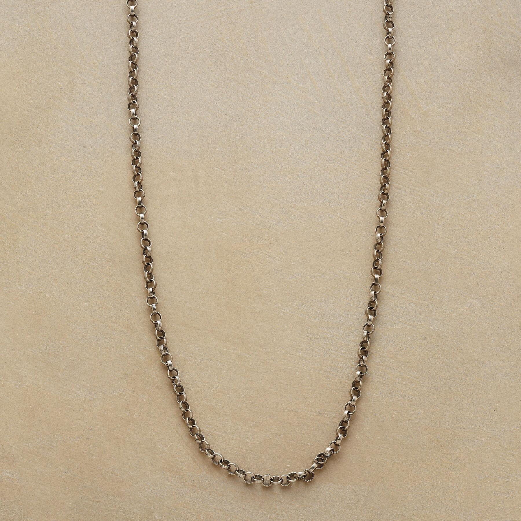 "20"" STERLING SILVER CHAIN CHARMSTARTER NECKLACE: View 1"