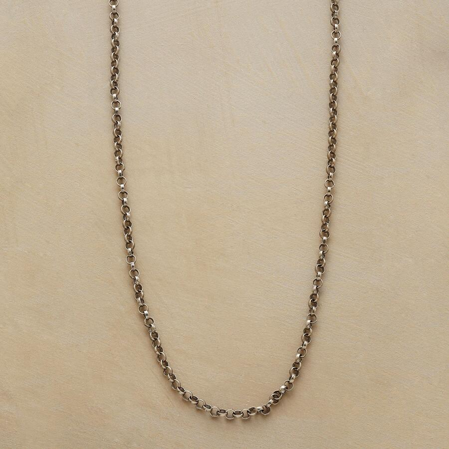 "20"" STERLING SILVER CHAIN CHARMSTARTER NECKLACE"