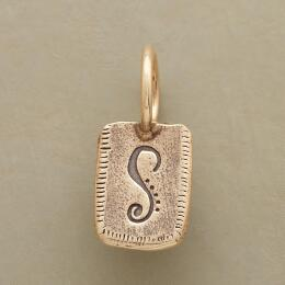 GOLD PERSONALIZED INITIAL CHARM