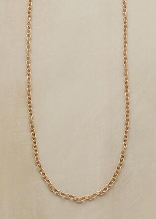 "20"" GOLD CHAIN CHARMSTARTER NECKLACE"