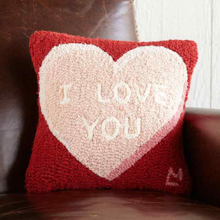 VALENTINE LOVE PLEDGE PILLOW