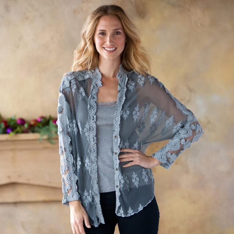 ENCHANTED LACE BLOUSE