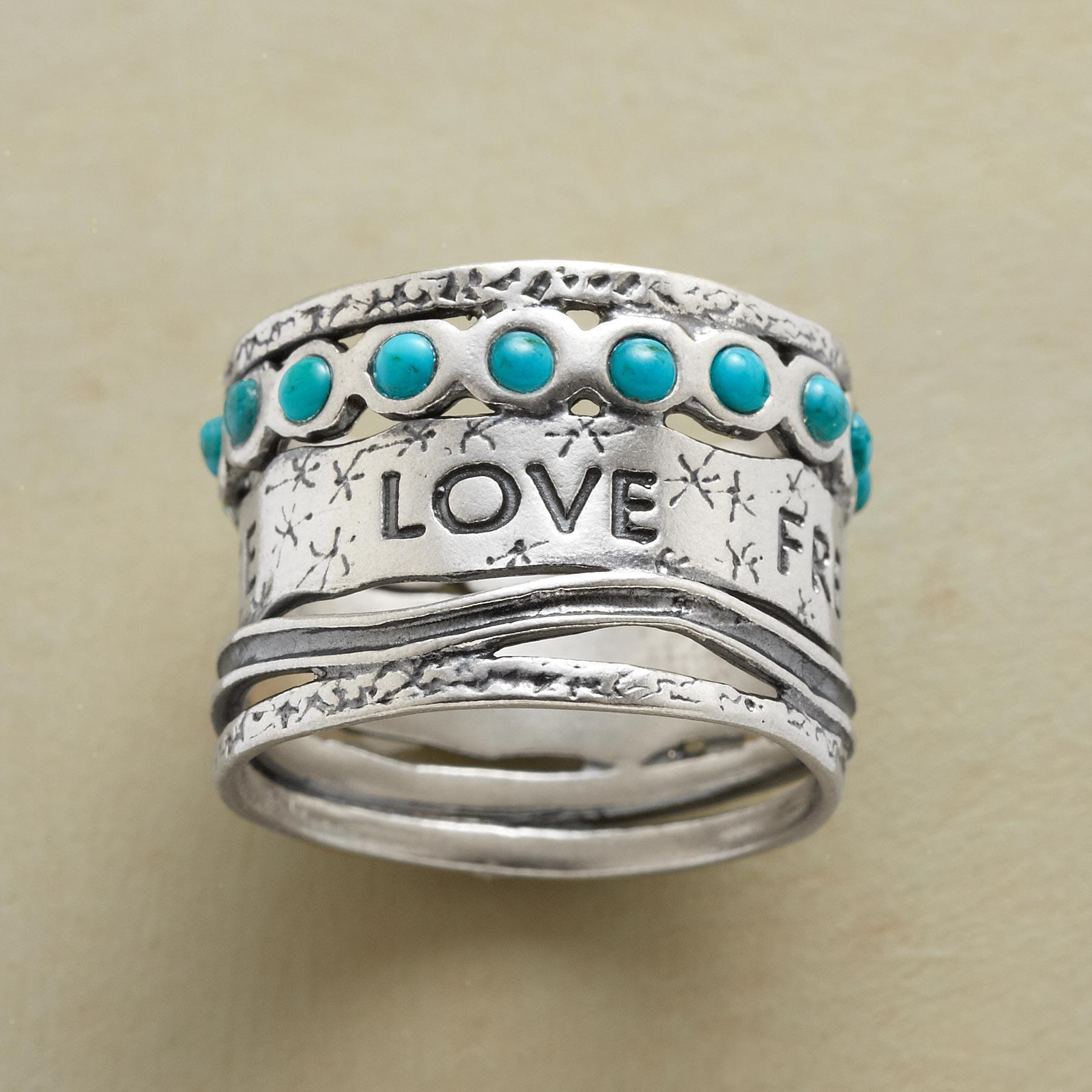 LIFE LOVERS RING: View 1