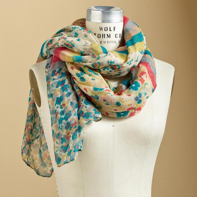FLOWER BREEZE SCARF