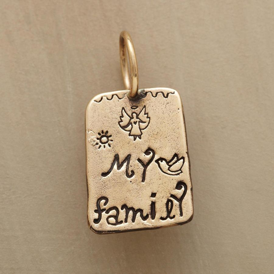 GOLD MY FAMILY CHARM