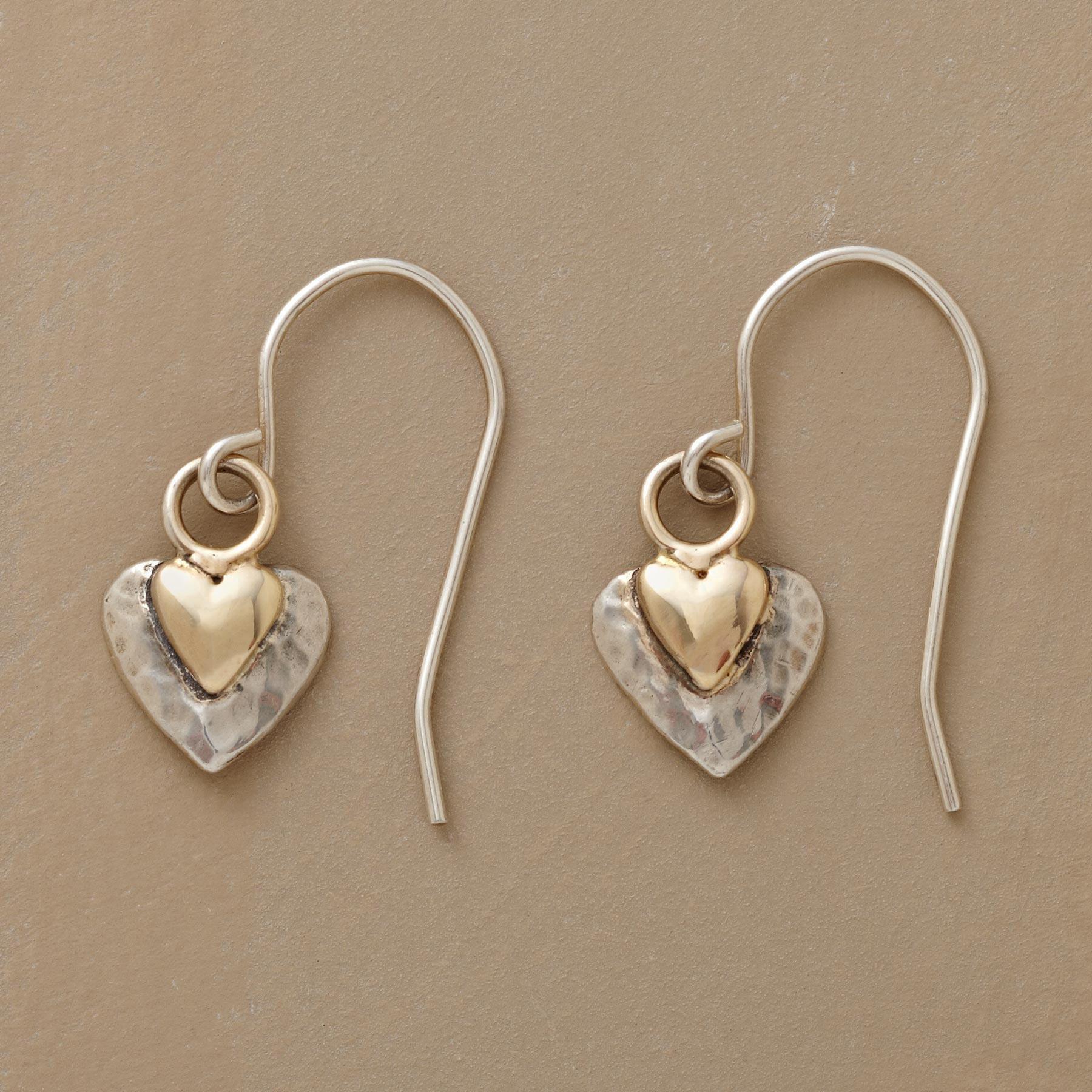 HEART CHAKRA EARRINGS: View 1
