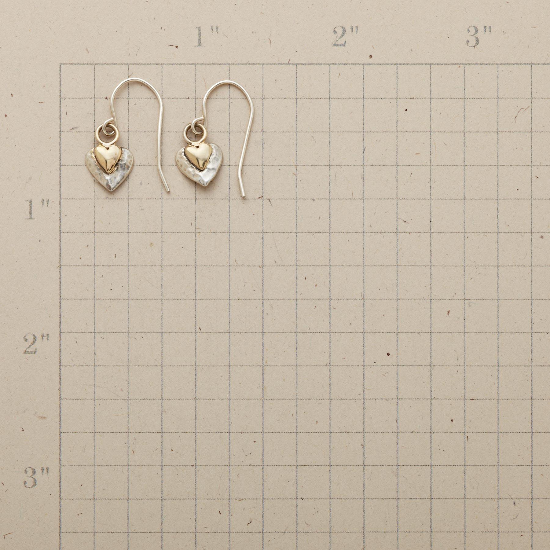 HEART CHAKRA EARRINGS: View 2