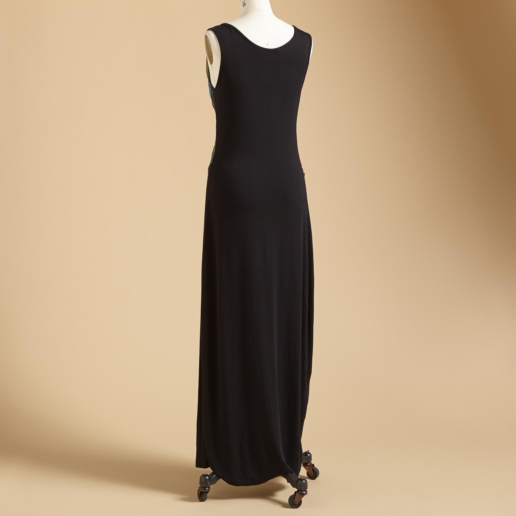 WRAP & TIE TANK DRESS: View 2