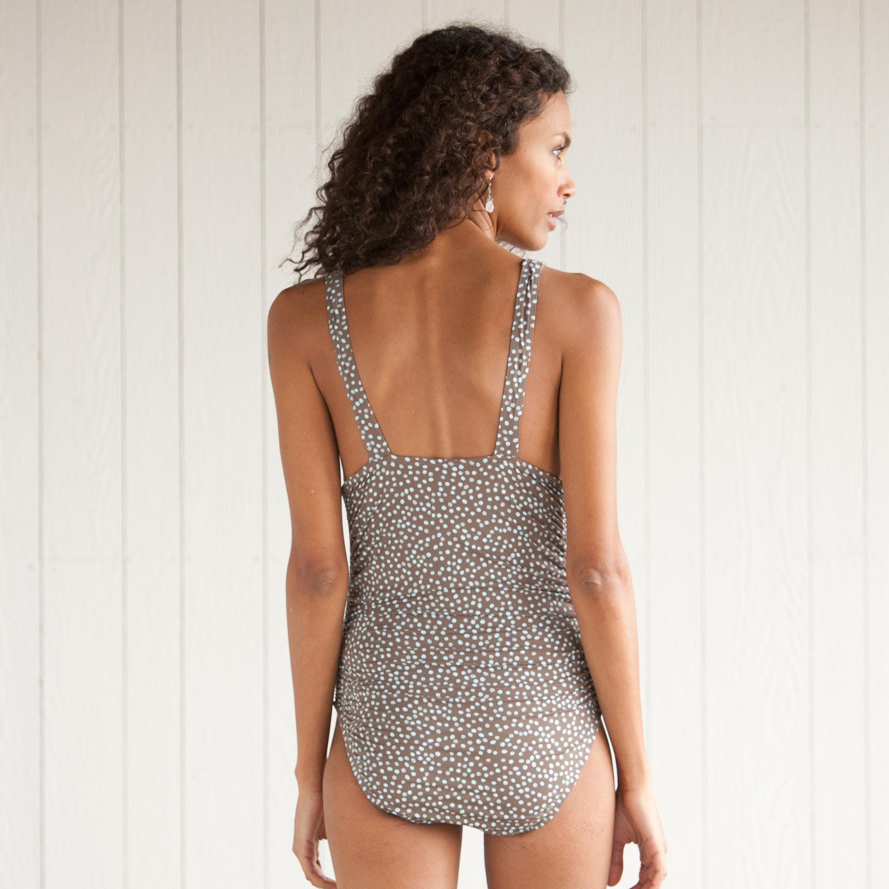 DOHENY DOTS ONE PIECE SWIMSUIT: View 2