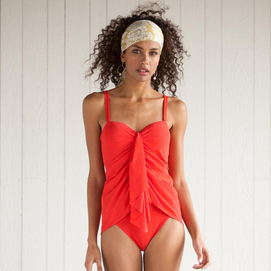 SIZZLING SARONG SWIMSUIT