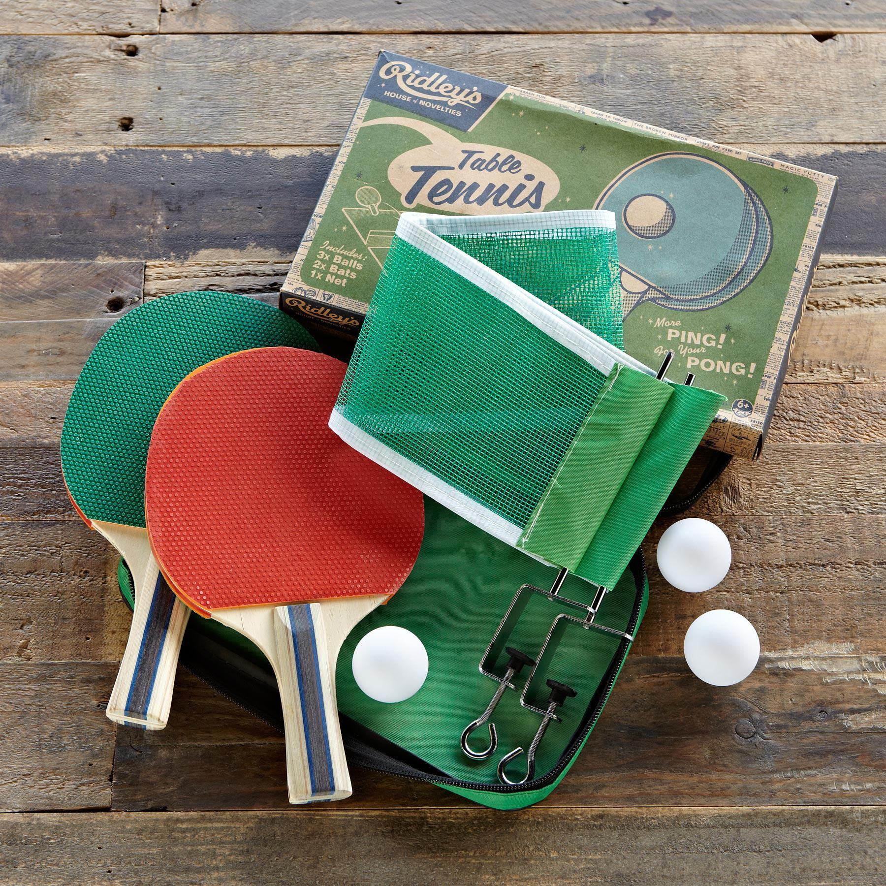 RIDLEY'S VINTAGE TABLE TENNIS SET: View 2