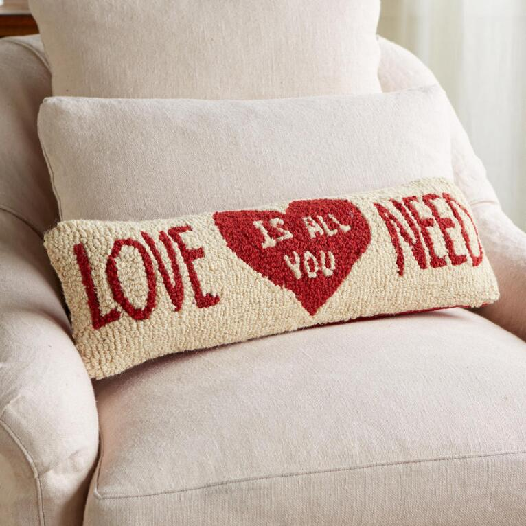 VALENTINE LOVE IS ALL YOU NEED BOLSTER