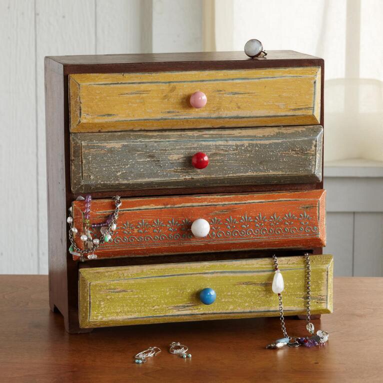 TREASURED TRINKETS BOX