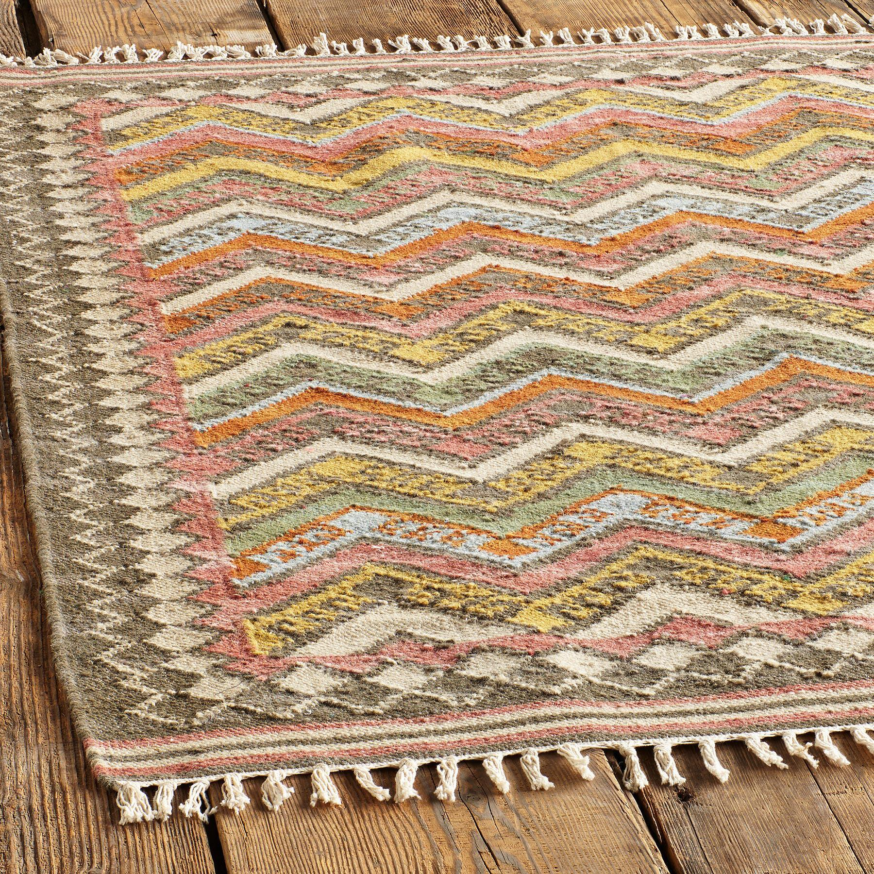 KILIM OF MANY COLORS RUG - SM: View 2