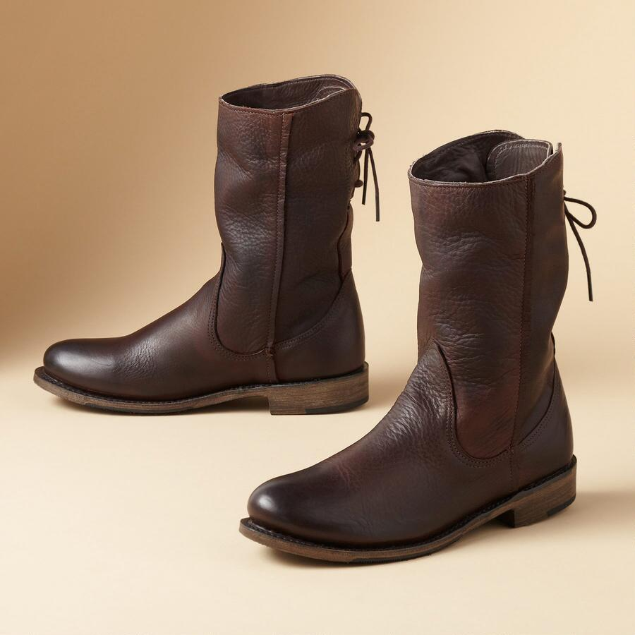 ERIN SHORT BOOTS BY VINTAGE SHOE CO