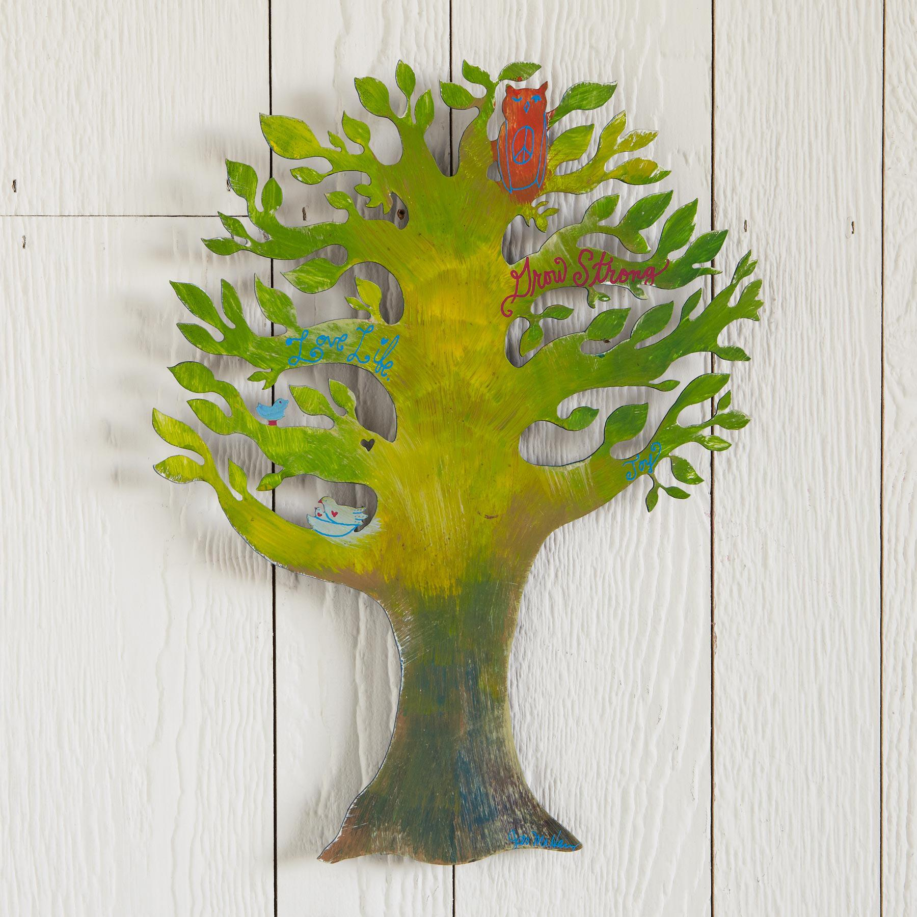 GROW STRONG MAGNET BOARD: View 1