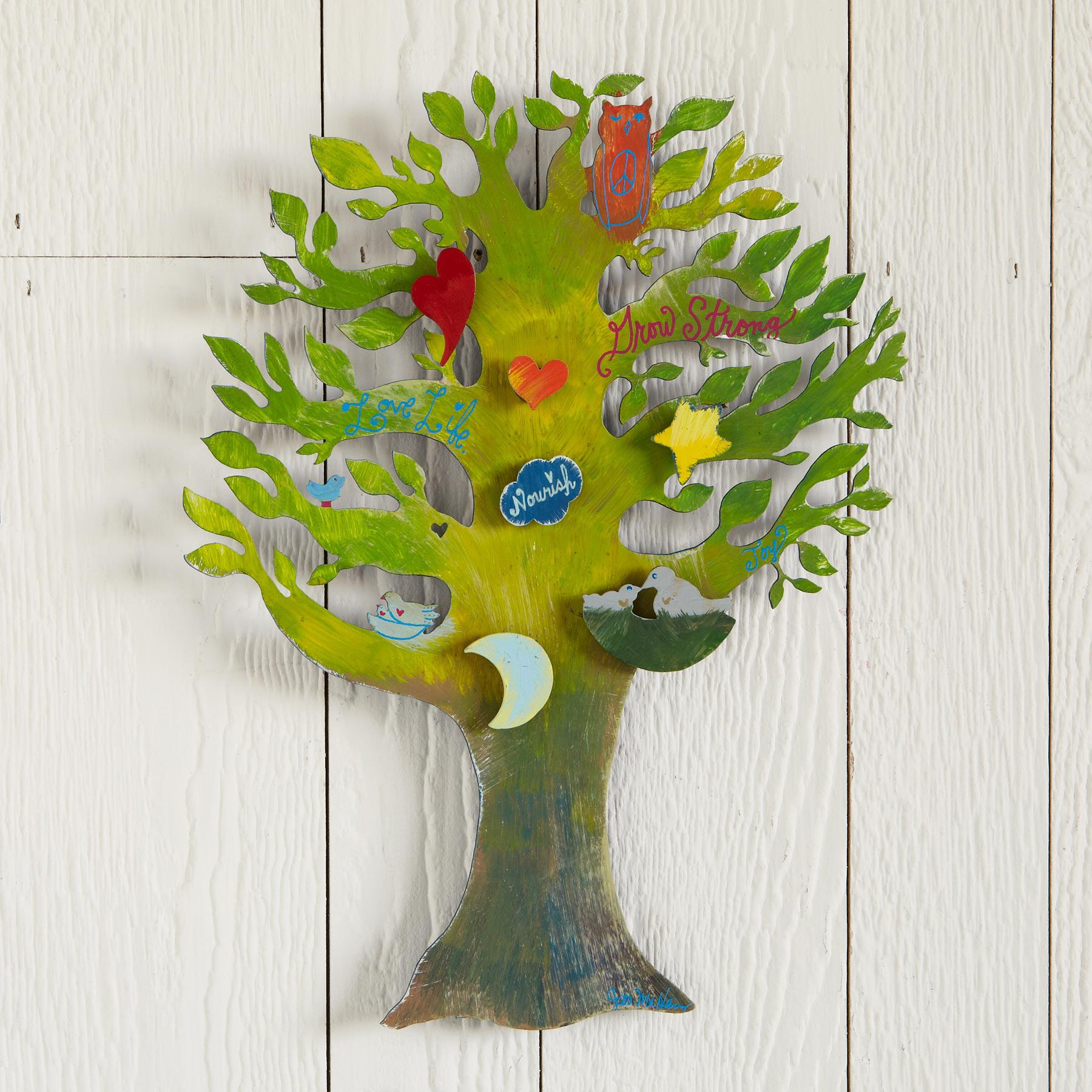 GROW STRONG MAGNET BOARD: View 2