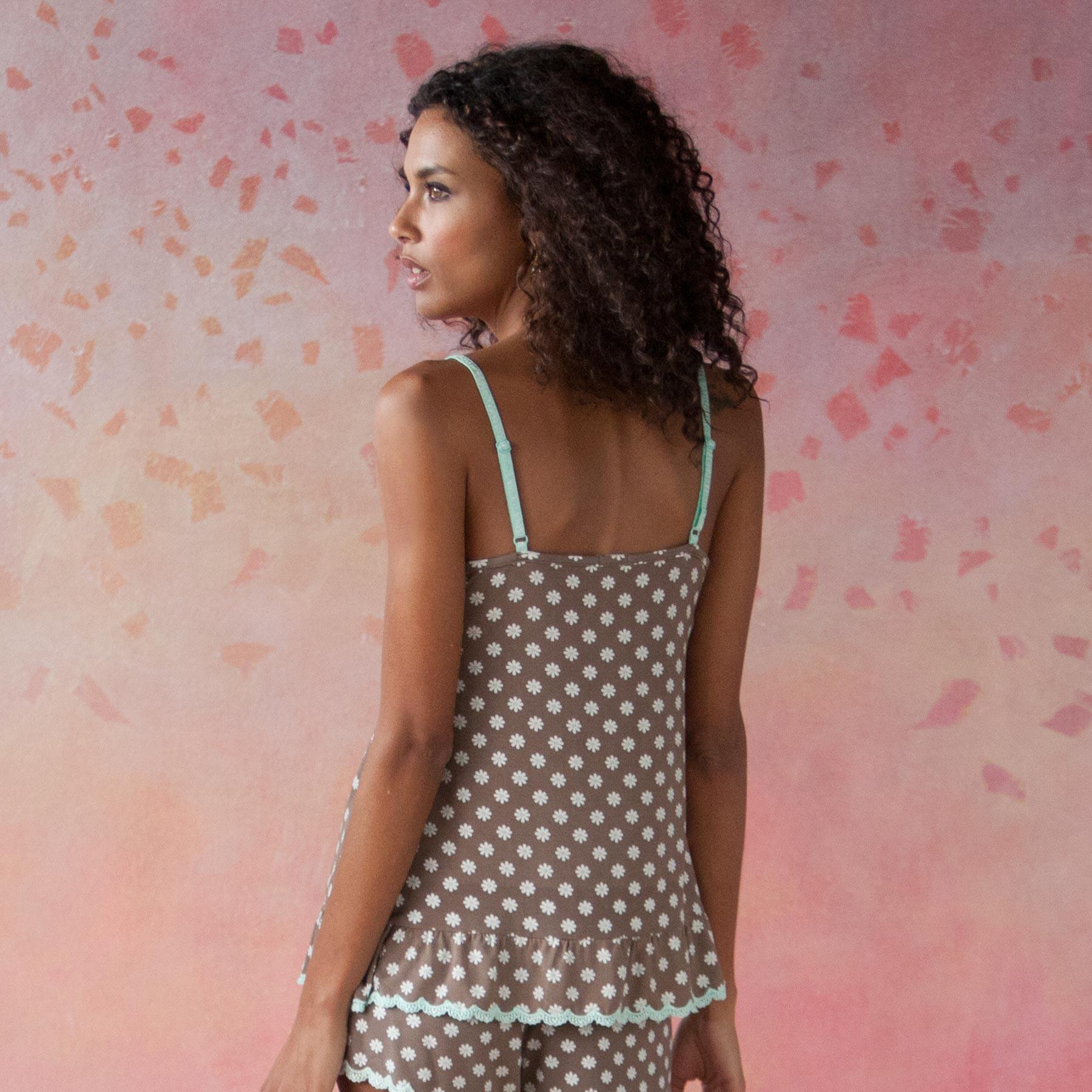 DAISIES DO TELL CAMISOLE: View 2