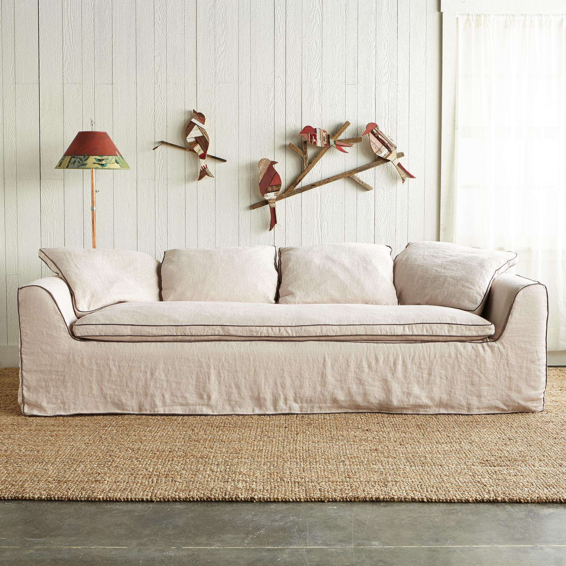 HARPER SLIPCOVER SOFA: View 1