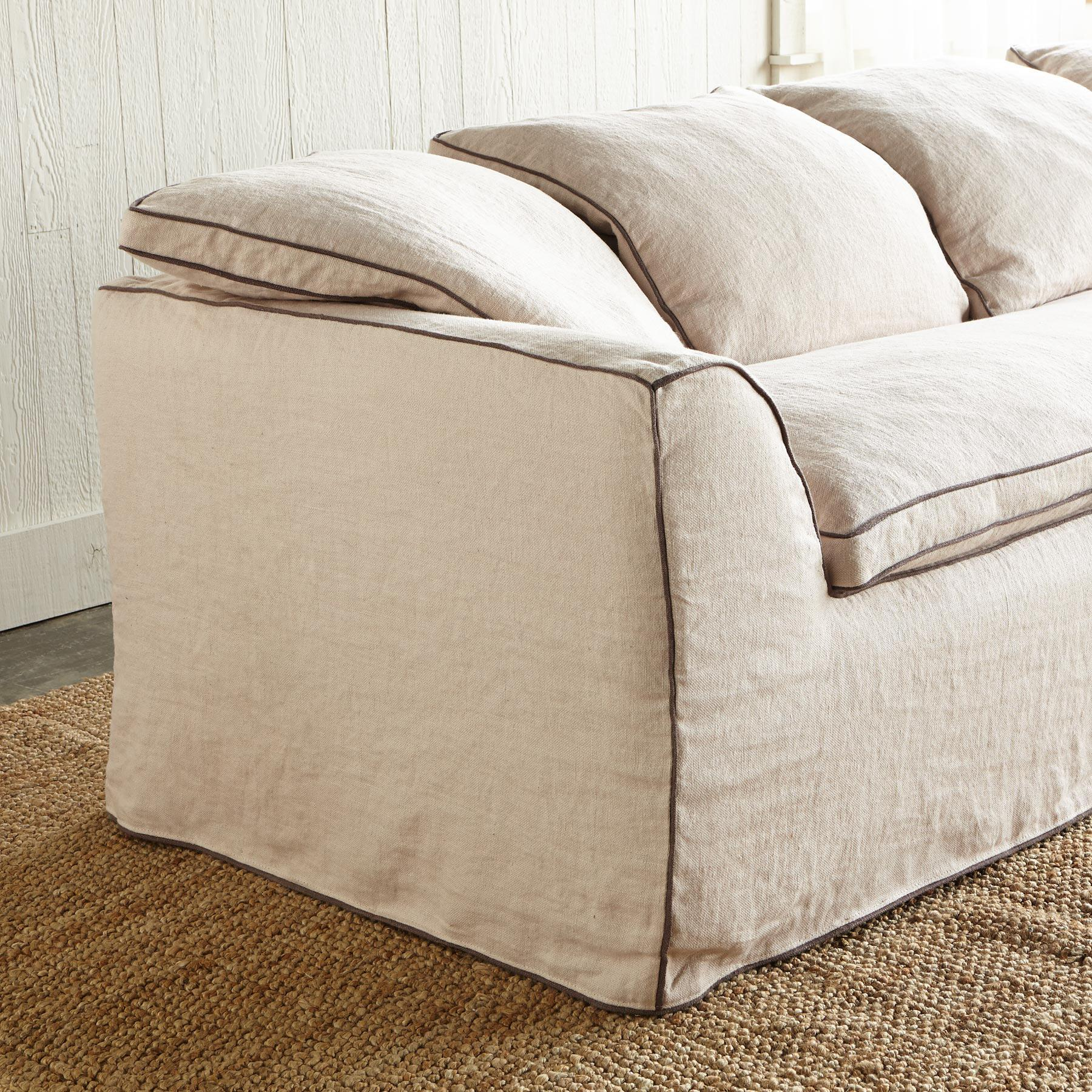 HARPER SLIPCOVER SOFA: View 2