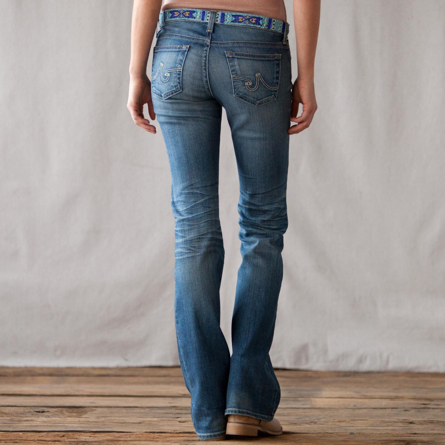 BEADED A G JEAN: View 2
