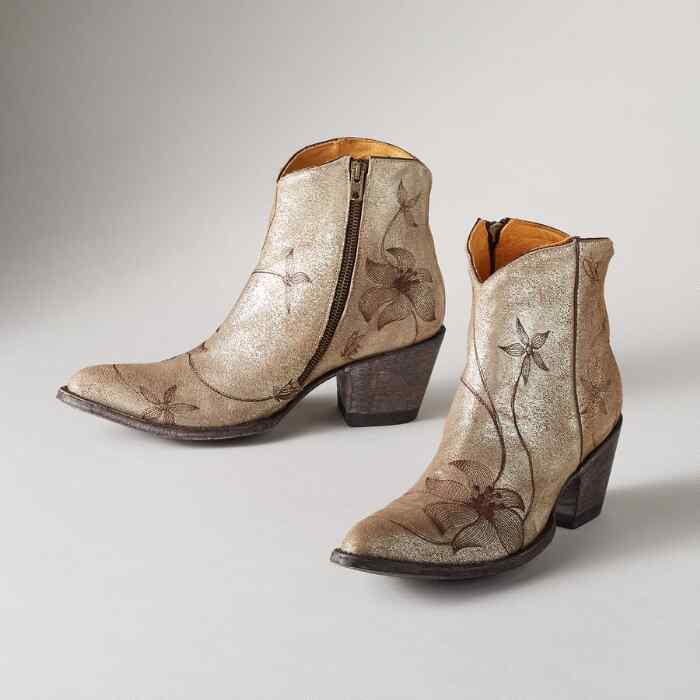 FLORA LOCA ANKLE BOOTS