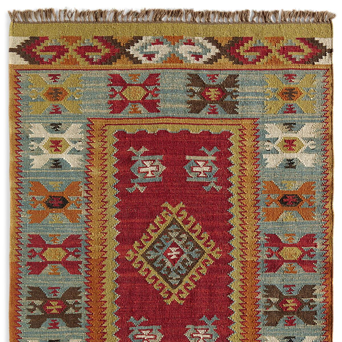 SUMMERHOUSE KILIM RUG, LARGE: View 1