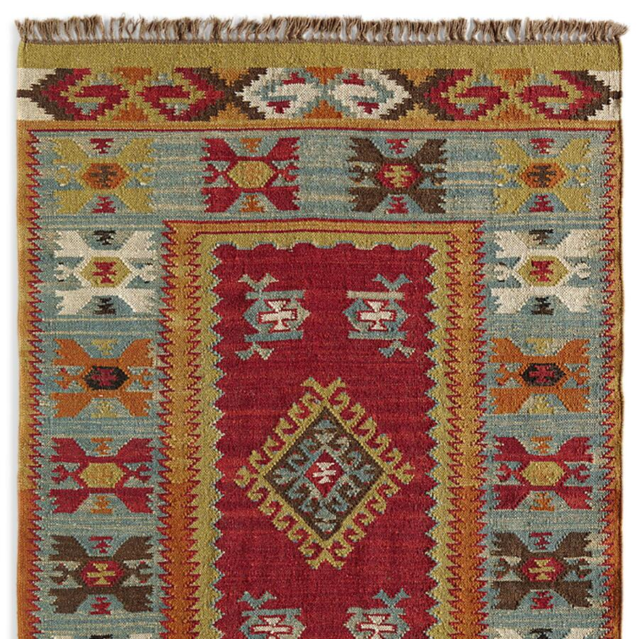 Art Kilim Wool Rug: Robert Redford's Sundance Catalog