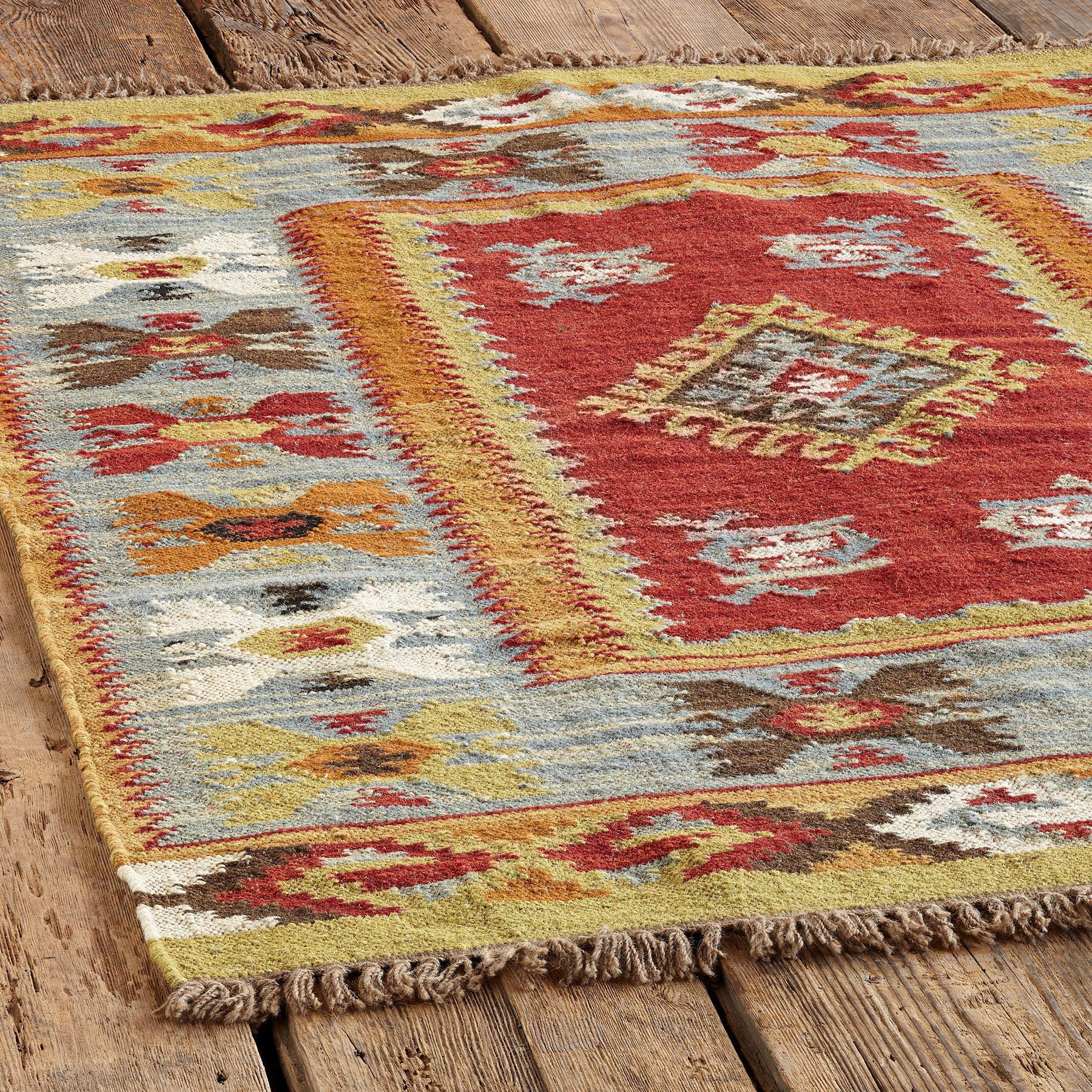 SUMMERHOUSE KILIM RUG, LARGE: View 2