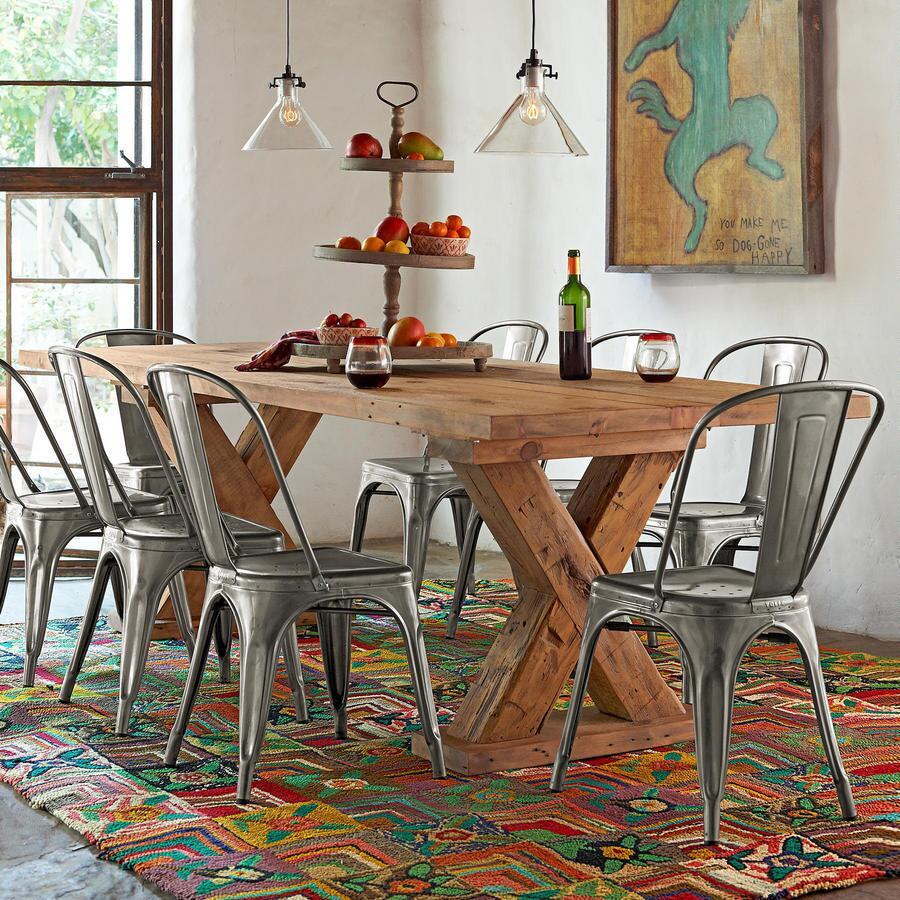 KILBOURN TRESTLE DINING TABLE