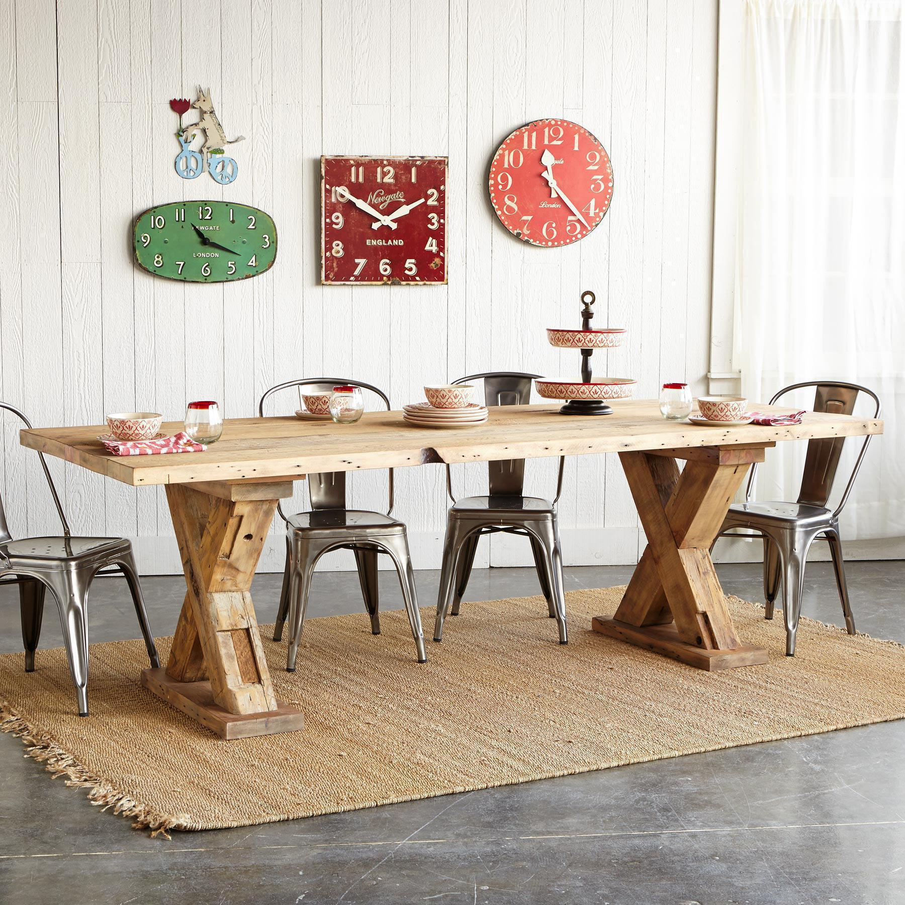 KILBOURN TRESTLE DINING TABLE: View 4
