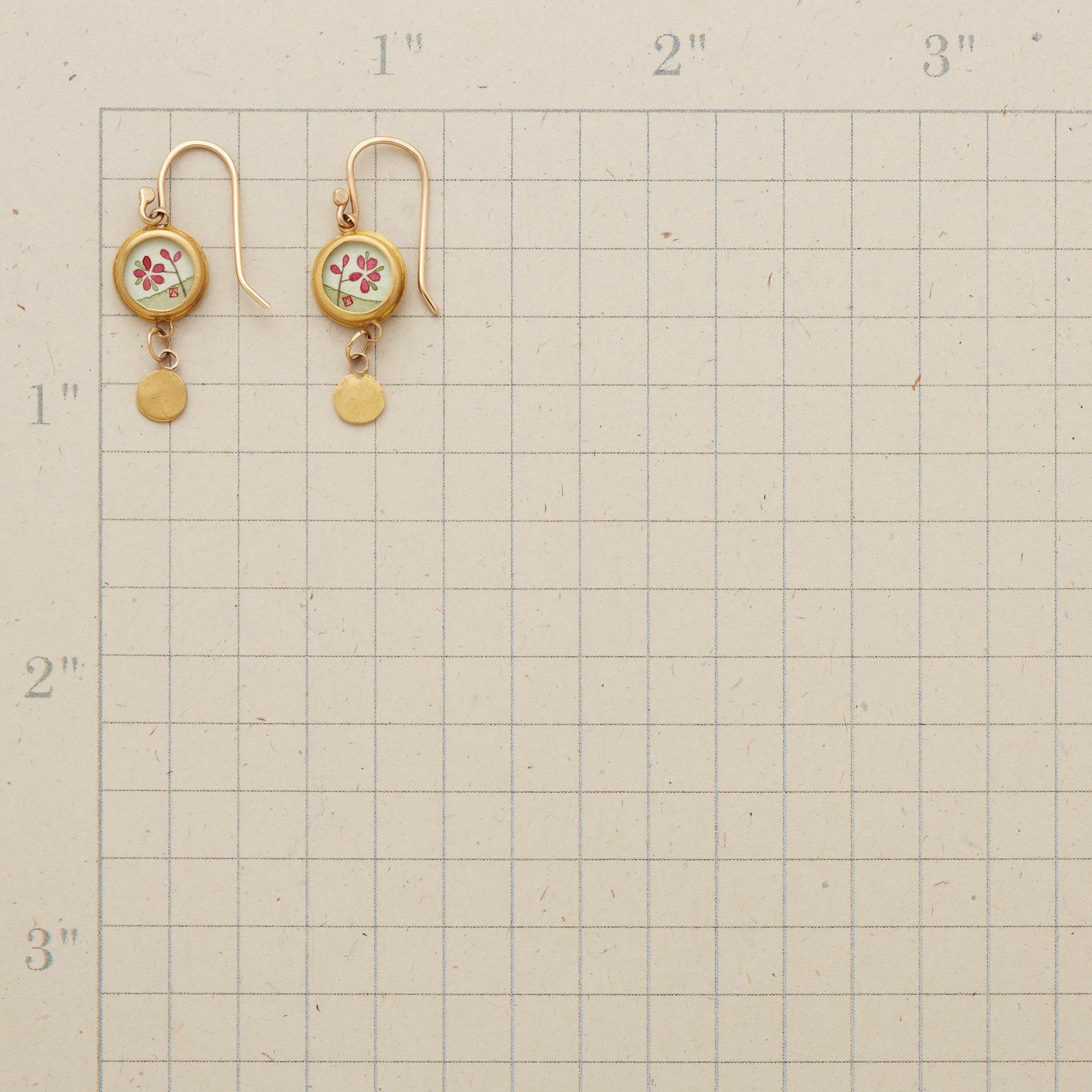 PLUM BLOSSOM EARRINGS: View 2