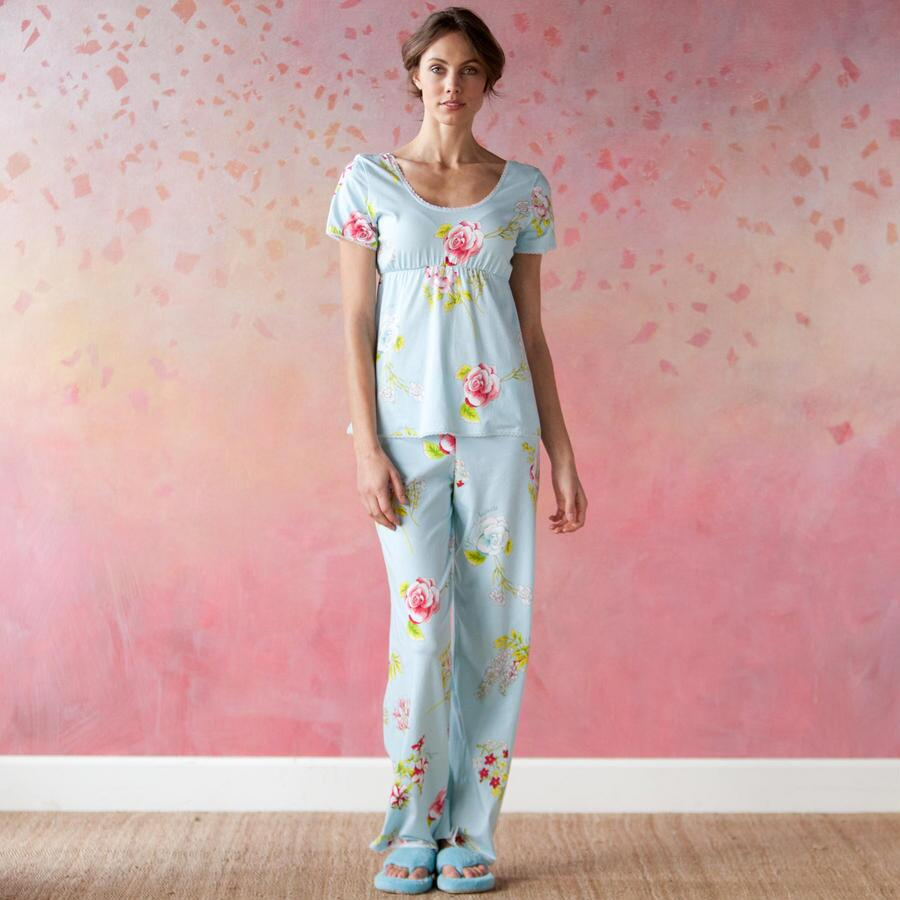 BOTANICAL ROSE PAJAMAS